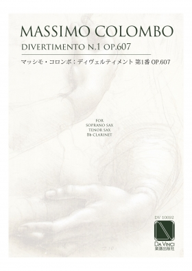 Divertimento 1 op. 607 for soprano sax, clarinet, tenor sax - Massimo Colombo